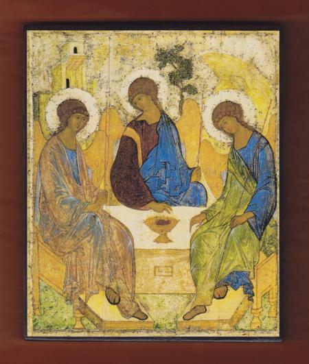 3. Andrei Rublev - Holy Trinity